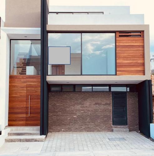 Imagen 1 de 22 de Se Vende Casa En Zibata, Roof Garden, 3 Recamaras, Estudio,