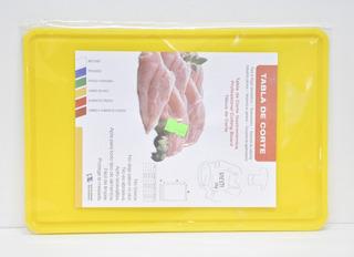 Tabla De Corte Gastronomica 20x30 Multiuso Amarilla