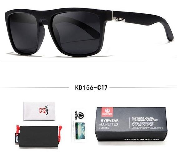 Óculos De Sol Masculino Colorido Polarizado Kdeam Original