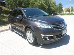 Chevrolet Traverse Lt Aut. Piel Qc Abs 7 /pas Dvd, Impecable