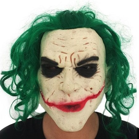 Mascara De Latex Premium De Jocker Guason De Batman
