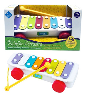 Xilofon Arrastre Musical Infantil New Original 6615 Bigshop