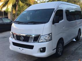 Nissan Urvan 2.5 15 Pas Amplia Pack Seguridad Mt