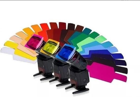 10 Kits 20 Gelatina Para Flash Canon Nikon Speedlight Externo