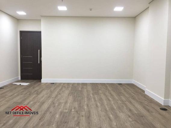 Sala Para Alugar, 32 M² Por R$ 1.400/mês - Costa Norte Office - Royal Park - São José Dos Campos/sp - Sa0133