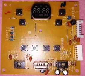 Placa Principal Radio Mondial Bx-18 Vt-818 Cd_dis/key