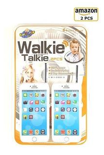 Teléfono Celular iPhone Piruleta Walkie Talkie De Juguete De
