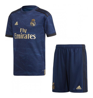 Conjunto Infantil Do Real Madrid Novo - Desconto + Garantia