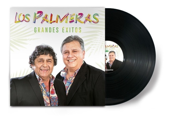 Los Palmeras Grandes Exitos Vinilo Nuevo Lp Cumbia