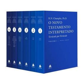 Livro Novo Testamento Interpretado 6 Livros Comentado Hagnos