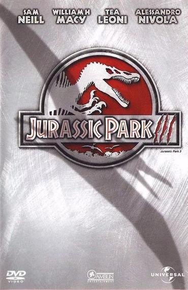 Jurassic Park Iii - Dvd Original