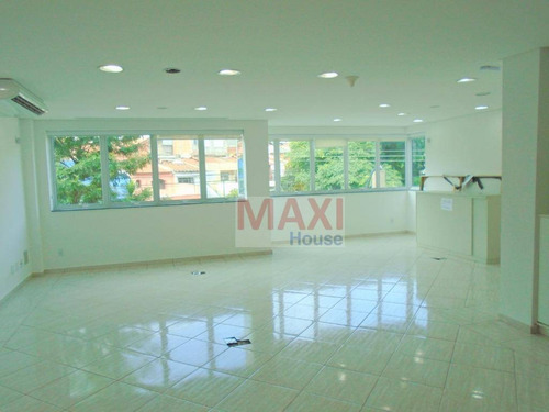 Sala Comercial 180 M², 2 Banheiros, Ar Condicionado, Vila Campesina, Osasco. - Sa0023