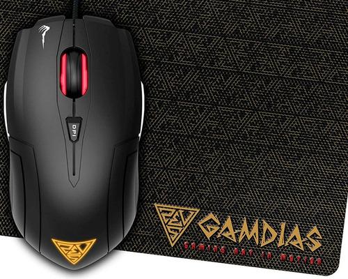 Mouse Gamer Gamdias Demeter E1 + Mouse Pad Gamer Nyx E1 Kit