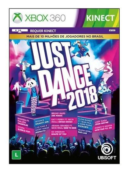 Just Dance 2018 - Xbox 360 - Original - Usado