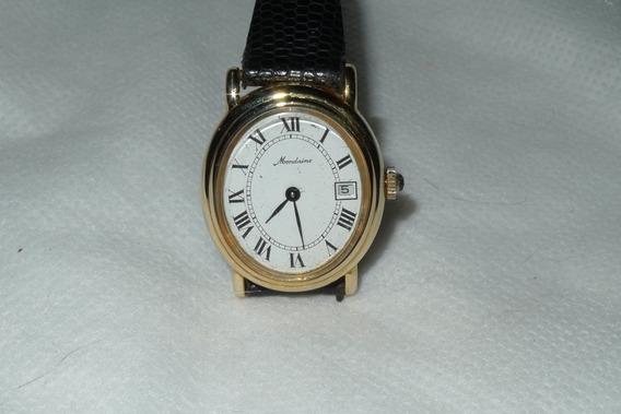 Relógio Mondeine Dourado Folheado Corda Feminino Leia Tudo!