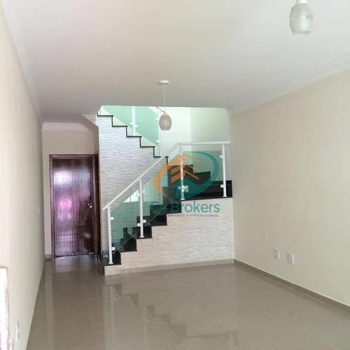 Imagem 1 de 15 de Sobrado Com 3 Dormitórios À Venda, 140 M² Por R$ 585.000,00 - Vila Carrão - São Paulo/sp - So0359