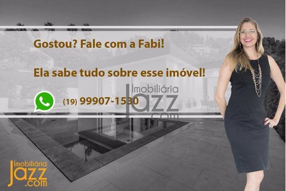 Incrível Casa Térrea No Condomínio Terras Do Fontanário, Em Paulínia - Ca5666