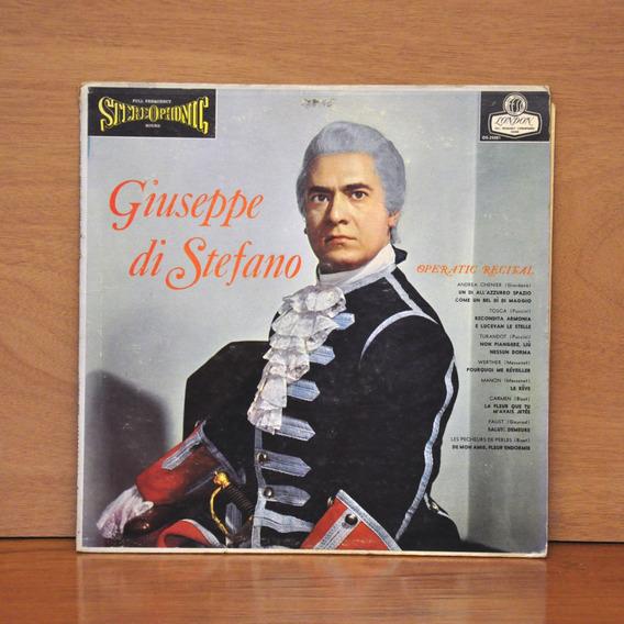 Giuseppe Di Stefano Operatic Recital Vinilo (con Clics)