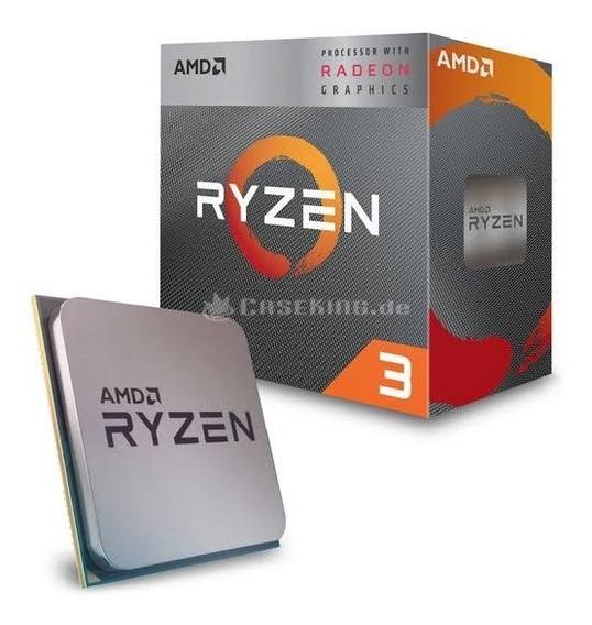 Processador Amd Ryzen 3 3200g / 3.6 Ghz / Am4 / 4 Núcleos!