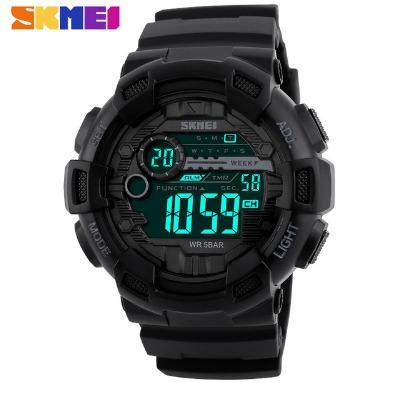 Relógio Masculino Militar Skmei Black Sport Importado