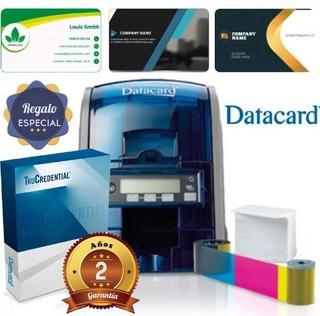 Impresora De Tarjeta Sd160 Grabador Banda Magnetica + Ribbon