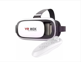Kit 2 Vr Box Oculos Realidade Virtual Cardboard 3d Rift+crt