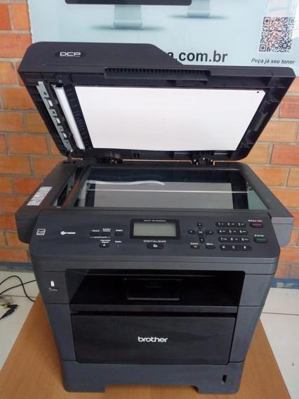 Impressora Multifuncional Brother Dcp 8152dn, Revisada.