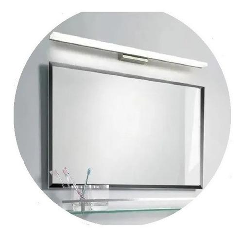Barra Led Artefacto Baño Espejo Luz Cálida O Fría 90cm