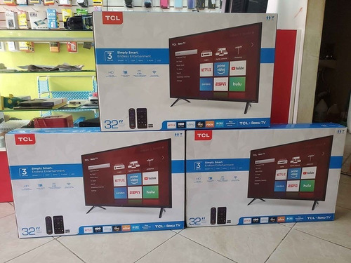 Smart Tv Tcl Ultra Hd 32 Pulgadas (roku Tv, Youtube, Netflix