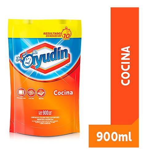 Ayudin Limpiador Antigrasa De Cocina Doy Pack X 900 Ml