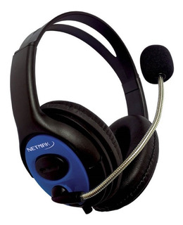 Auricular Gamer Microfono Netmak Furious Ps4 Xbox Celular