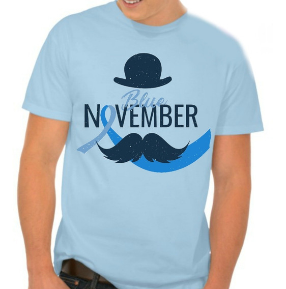 8 Camisetas Personalizada Masculina Feminina Novembro Azul