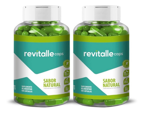 Kit 2 Revitallecaps 500mg 120 Cápsulas