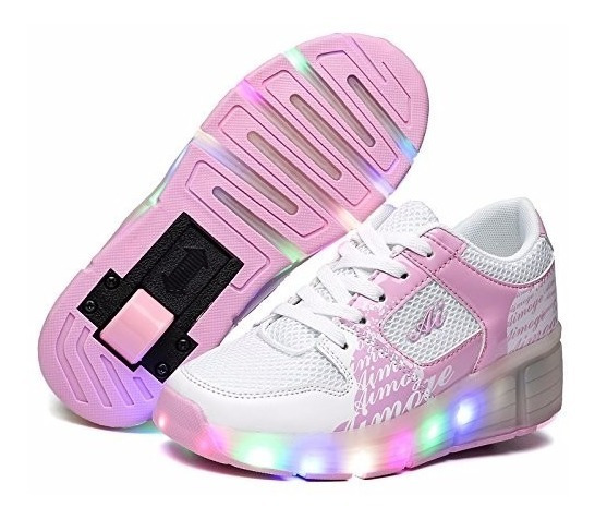 Tenis Luces Patines Nsasy Girl
