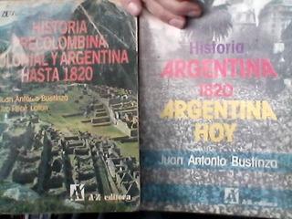 Historia Precolombina Colonial Argentina Hasta 1820 Az