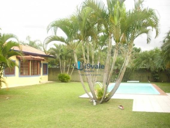 Casa C/ 3 Quartos E 1 Suíte P/ Alugar, Piscina E Canil Por R$ 6.000/mês - Conj Res Esplanada Do Sol - São José Dos Campos/sp - Ca1105