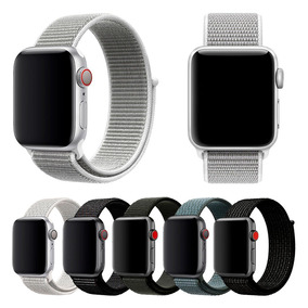 Pulseira Nylon Compatível Relogio Apple Watch 38/40 42/44mm