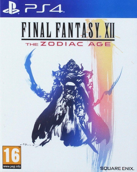 Final Fantasy Xii The Zodiac Age Ps4 Midia Fisica - Lacrado