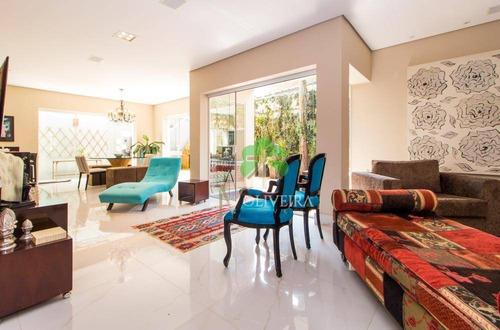 Imagem 1 de 10 de Casa À Venda, 443 M² Por R$ 3.200.000,00 - Brooklin Paulista - São Paulo/sp - Ca0147