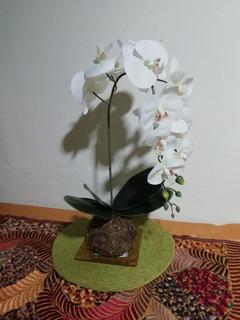 Orquidea Artificial Tácto Natural