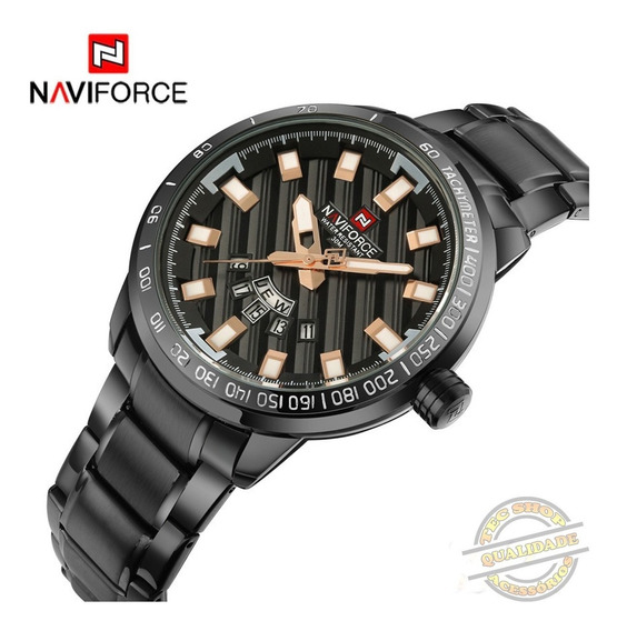 Relógio Masculino Esportivos Aço Inoxidável Luxuoso Original