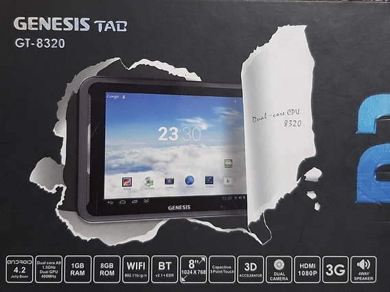 Tablet Genesis Gt-8320 8gb