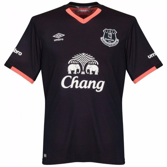 Camisa Everton Away16-17 Importada