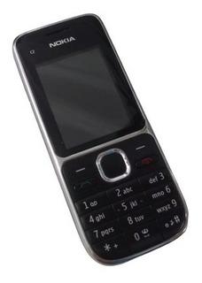 Celular Nokia C2-01 3g, 3mp Fm Mp3 Usado - Frete Gratis
