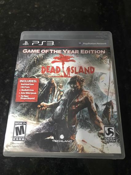 Jogo Ps3 Dead Island Original Mídia Física