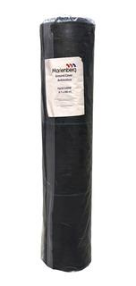 Tela Antimaleza De 0.70 X 100 M Color Negro