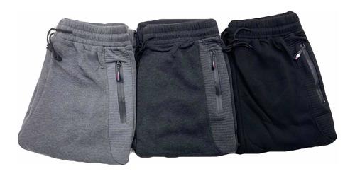 Imagen 1 de 4 de Pack 3 !!! Pantalon Buzo Hombre. Jogger Cargo.  Con Polar