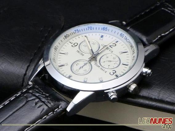 Promoção! Queima! Relógio Clássico, Social, Luxo + Estojo