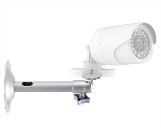 Suporte Alumínio Parede P/ Câmera Vigilância Segurança