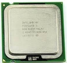 Processador Intel Pentium D 820 2.8ghz/2mb/800